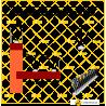 Espigões Espanta-Pombo 3 Hastes Inox-Policarbonato Proteção até 15 cm