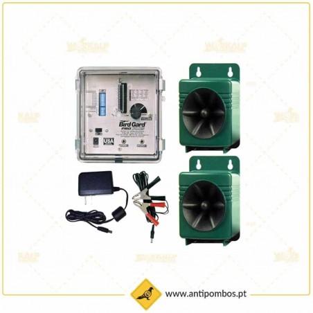 Repelente Eletrónico contra Pombos-Bird Gard Pro Plus