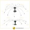 Sistema Espanta Pássaros Bird Spider 360
